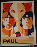 Tom Whalen Paul Movie Poster Mondo 2011