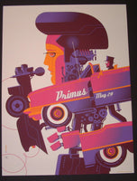 Tom Whalen Primus Poster Knoxville 2014 Artist Edition