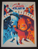 Tom Whalen A Year Without a Santa Claus Poster Artist Proof 2014