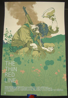 Tomer Hanuka The Thin Red Line Movie Poster 2016 Mondo
