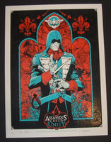 AngryBlue Tony Moore Assassin's Creed Unity Poster 2014