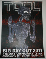 Adam Jones Tool Auckland Australia Big Day Out Concert Poster 2011
