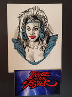 Tyler Stout Auntie Entity Thunderdome Movie Handbill Print Pros & Cons 9 2019