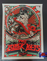 Tyler Stout Black Keys Tacoma Poster Red Artist Edition 2019