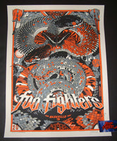 Tyler Stout Foo Fighters Poster Nashville Variant Artist Edition 2018