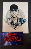 Tyler Stout Furiosa Mad Max Fury Road Movie Handbill Print Pros & Cons 8 2019