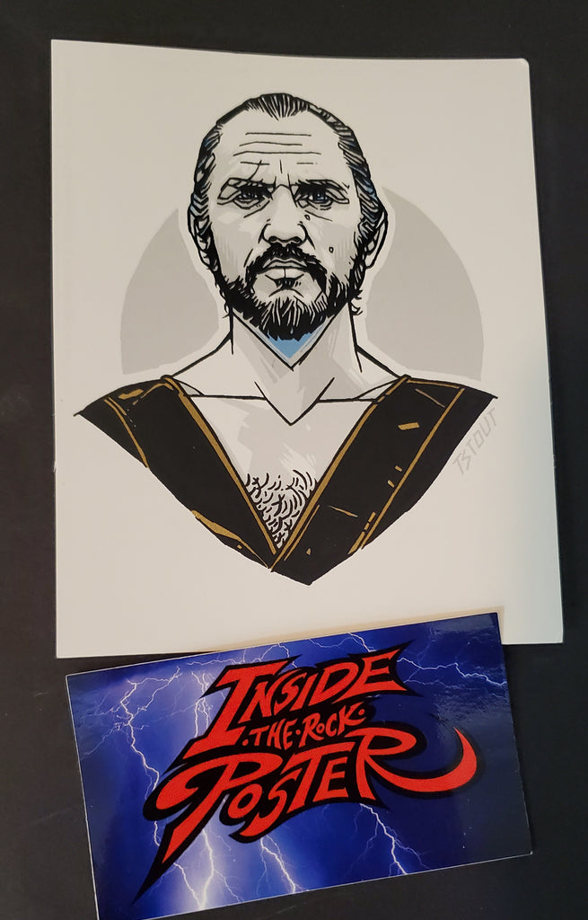 Tyler Stout General Zod Superman Movie Handbill Print Pros & Cons 6 2019