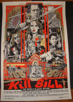 Tyler Stout Kill Bill Movie Poster Print Mondo 2011