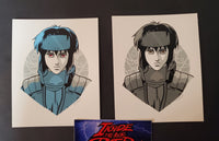 Tyler Stout Major Motoko Kusanagi Set of Movie Handbill Prints Pros & Cons 9 2019