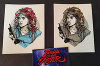 Tyler Stout Reggie Belmont Set of Movie Handbill Prints Pros & Cons 8 2019
