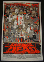 Tyler Stout Shaun of the Dead Movie Poster Mondo 2013 S/N