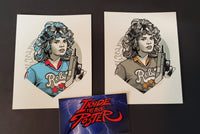 Tyler Stout Samantha Belmont Set of Movie Handbill Prints Pros & Cons 8 2019