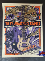 Tyler Stout Trey Anastasio Band Los Angeles Poster Artist Edition 2020
