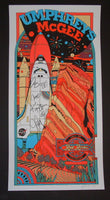 Tyler Stout Umphrey's McGee Poster Red Rock 2014 Band Autographed