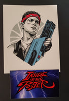Tyler Stout Vasquez Aliens Movie Handbill Print Pros & Cons 9 2019