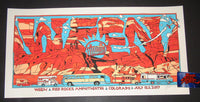 Tyler Stout Ween Red Rocks Morrison Poster Artist Edition 2017