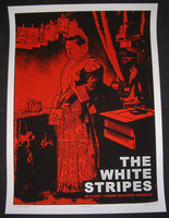 Rob Jones The White Stripes Poster Nashville 2007 Artist Edition S/N