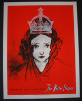 Rob Jones The White Stripes Poster Vienna Austria 2007 Artist Edition S/N