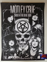 Wildner Lima Motley Crue New York City 1983 Poster 2020