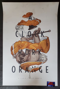 Wylie Beckert A Clockwork Orange Movie Poster Mondo 2020