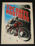 Zeb Love Avett Brothers Poster Seattle 2013 Artist Edition S/N