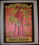 Zoltron Skinny Puppy San Francisco Poster S/N