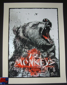 Zeb Love 12 Monkeys Movie Poster Variant 2015