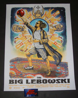 Zeb Love The Big Lebowski Movie Poster Artist Edition 2018