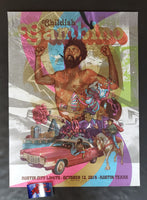 Zeb Love Childish Gambino Austin Poster Test Print 2019