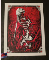 Zeb Love Cycles Art Print Artist Proof Edition 2013