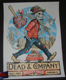Zeb Love Dead & Company Poster Chicago Wrigley Field Artist Edition 2017 S/N