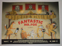 Zeb Love Fantastic Mr. Fox Movie Poster Artist Proof 2014