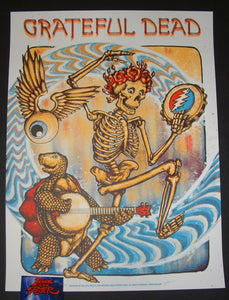 Zeb Love Grateful Dead Here Comes Sunshine Poster 2018
