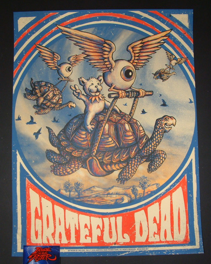 Zeb Love Grateful Dead Promised Land Poster 2018
