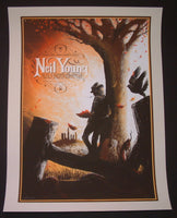 Zeb Love Neil Young Harvest Poster 2014 Artist Edition