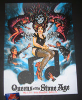 Zeb Love Queens of the Stone Age Madison Poster 2018 Artist Edition