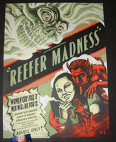 Zeb Love Reefer Madness Movie Poster 2018