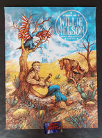 Zeb Love Willie Nelson Austin 1972 Poster Day Variant 2020