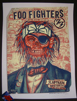 Zoltron Foo Fighters Poster Chula Vista 2015 Artist Edition