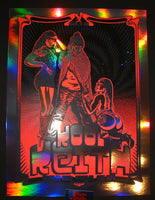 Zoltron Kool Keith Brooklyn Poster Rainbow Mirror Foil Variant 2015