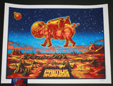 Zoltron Primus Poster Oakland 2015 Artist Edition New Years Eve