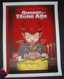 Zoltron Queens of the Stone Age Poster Washington DC 2017 Artist Edition