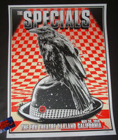 Zoltron The Specials Oakland Poster Artist Edition 2019