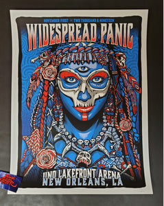Zoltron Widespread Panic New Orleans Poster Artist Edition Night Two 2019