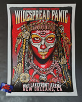 Zoltron Widespread Panic New Orleans Poster Artist Edition Night Three 2019