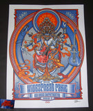 Zoltron Widespread Panic Poster Red Rocks Morrison 2018