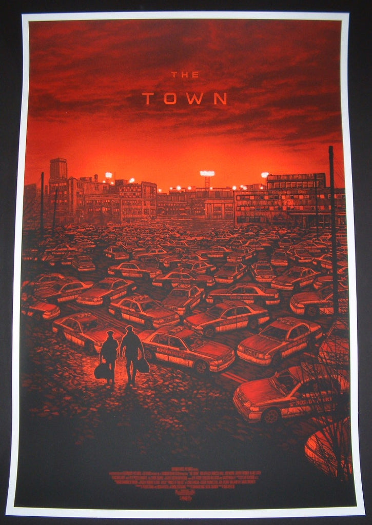 Daniel Danger The Town Movie Poster Mondotees 2013