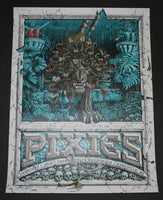 Dig My Chili Pixies Poster Asheville Blue Variant 2014 Artist Edition