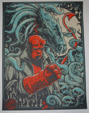 Godmachine Hand of Doom Hellboy Art Print 2013