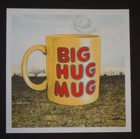 Jon Smith Big Hug Mug True Detective Art Print 2014 Glow in the Dark S/N